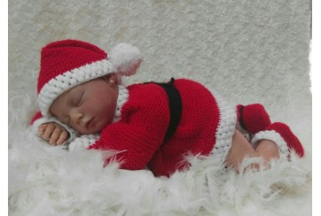 Traje Papá Noel Reborn